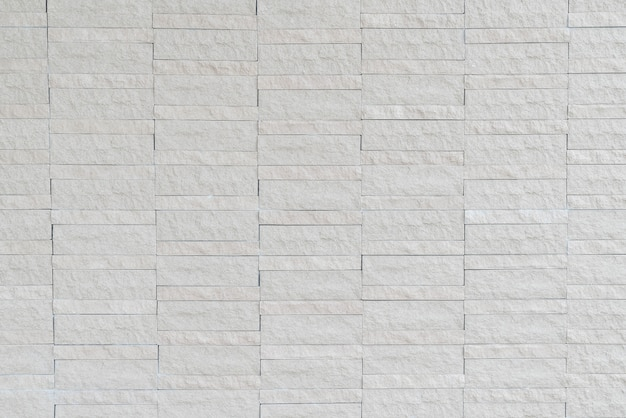 Белая кирпичная стена