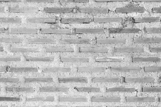 Muro di mattoni bianco