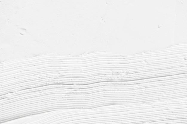 白いブラシストロークテクスチャ背景