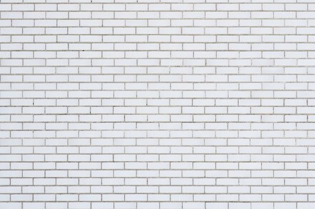 White building brick texture background
