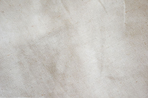 White calico fabric cloth background texture
