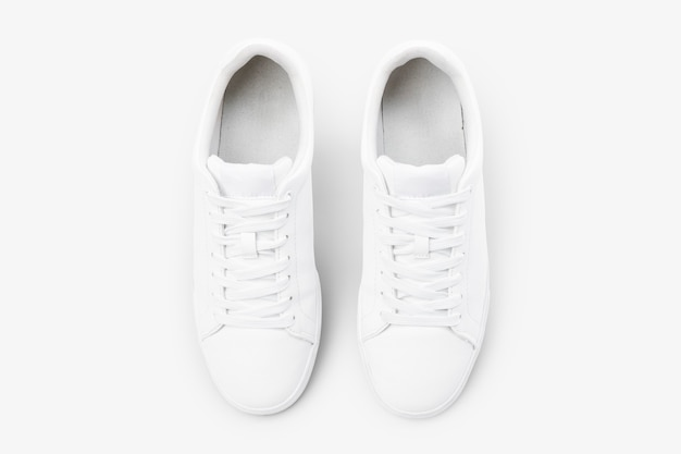화이트 캔버스 스니커즈 유니섹스 신발 패션