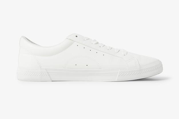 ホワイトキャンバススニーカーユニセックスシューズファッション