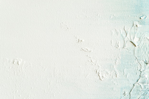 White canvas texture background for art painting and drawing.