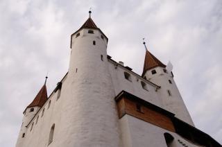 White castle , medevial