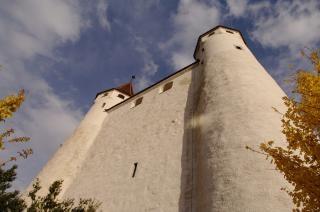 White castle , white