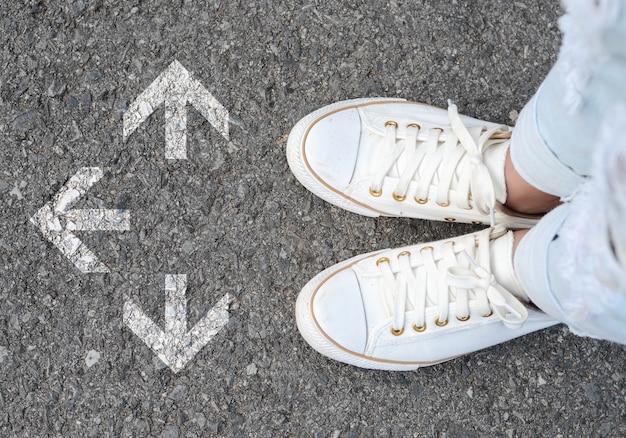 Решение белых туфлей