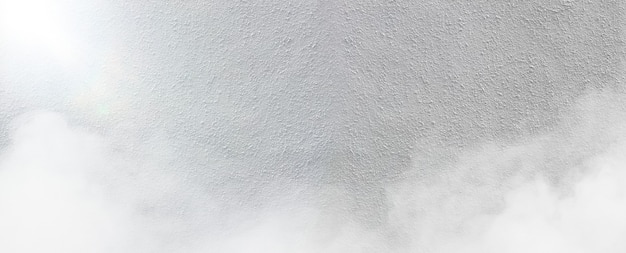 White cement wall with fog texture background. rough texture.
