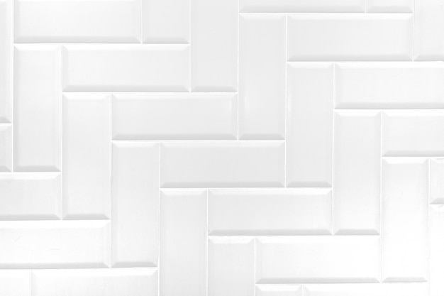 White ceramic brick tile wall,modern abstract texture background.