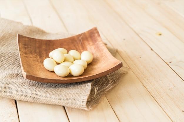 White chocolate ball