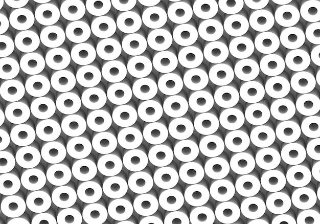 Белые круги. абстрактный узор раундов для интернета