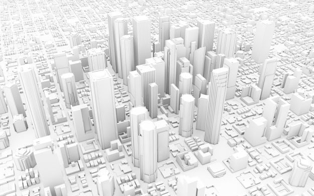 White city render