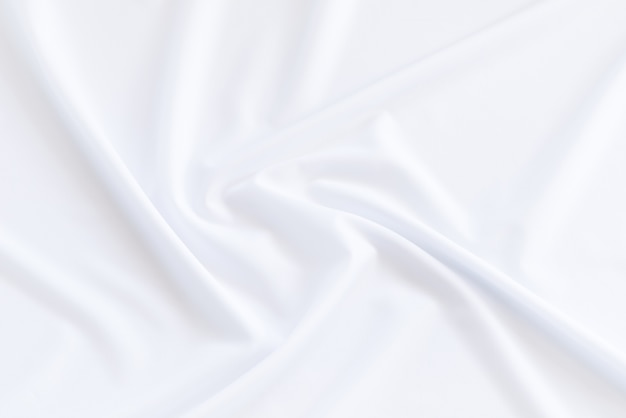 White cloth background and texture, grooved of white fabric abstract