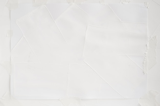 Картина белого цвета на бумаге текстуры фона искусства