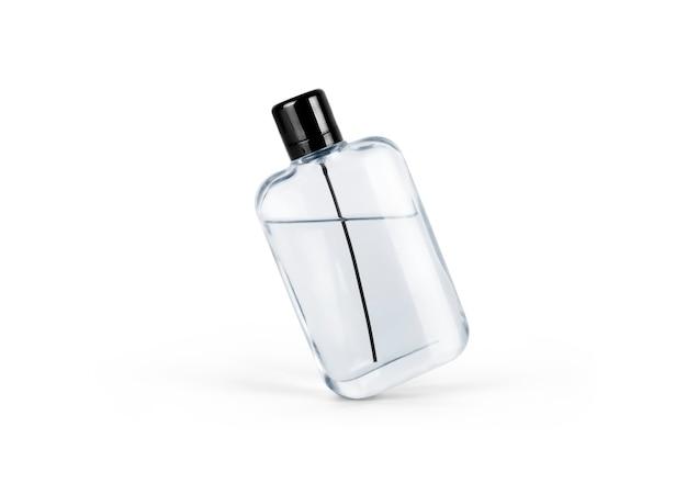 흰색 배경 위에 절연 스프레이 병의 흰색 용기