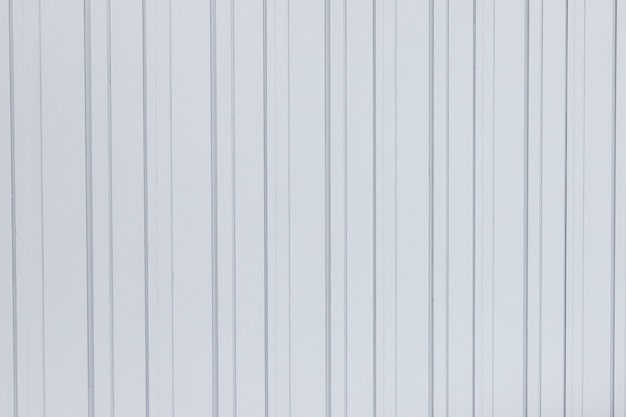 White corrugated metal texture surface sheet for industrial building background