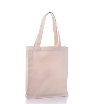 White cotton bag.