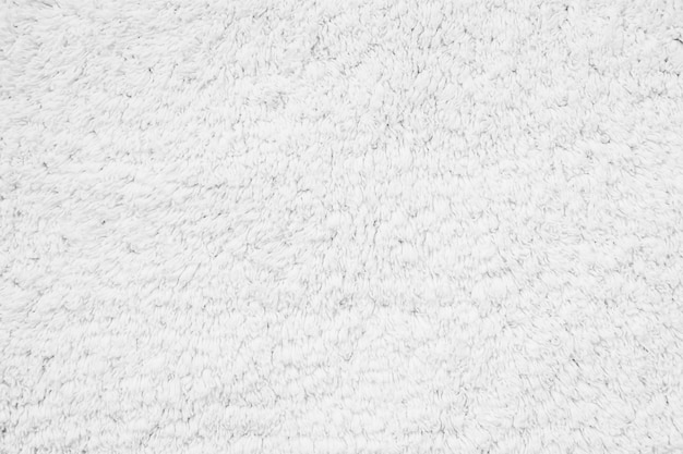 White cotton carpet textures and surface