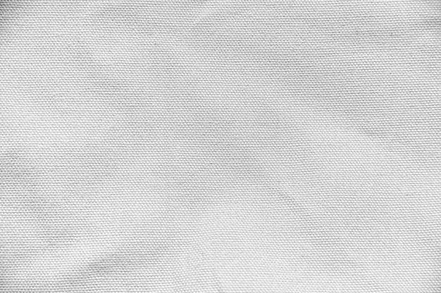 화이트 코 튼 패브릭 캔버스 질감 배경