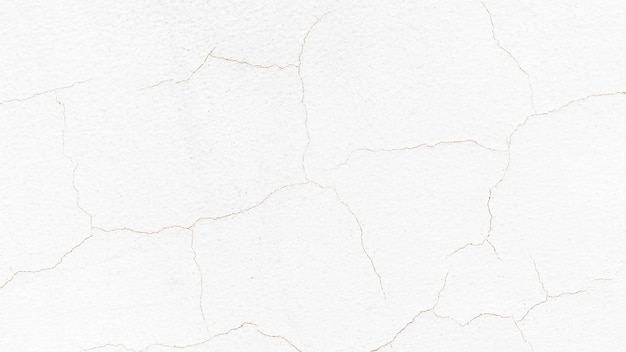 白いひびの入った壁のデザインスペース