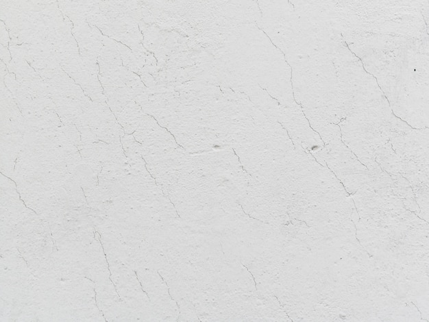 White cracked wall textured background