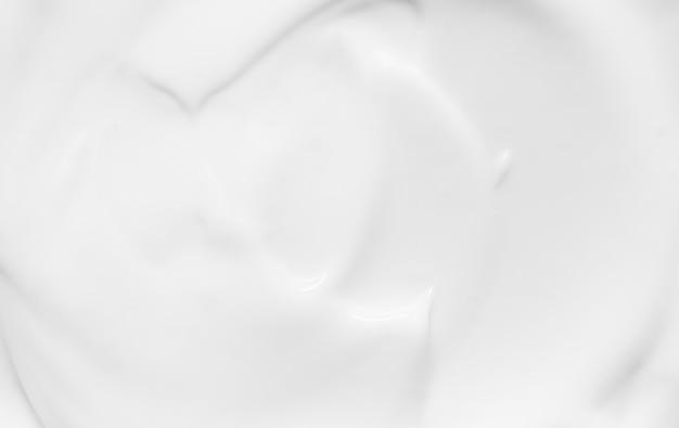 Белая кремовая текстура