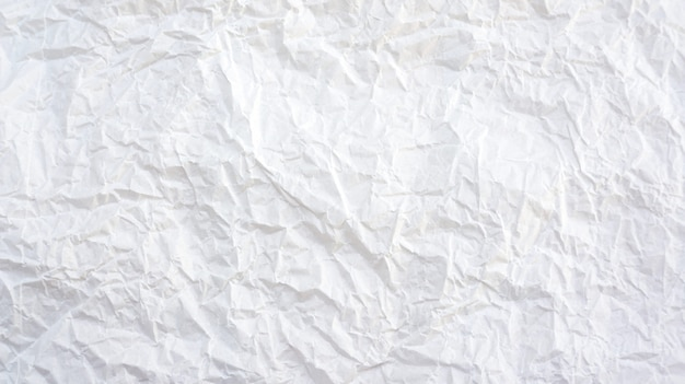 White creased paper background texture.