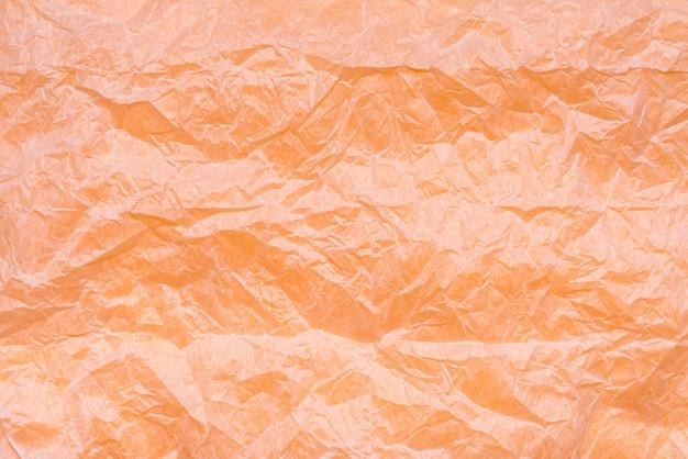 Белый мятую крафт-бумагу текстуры, фон