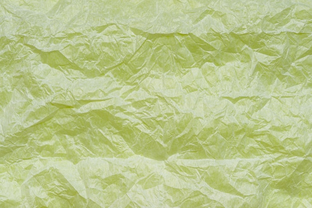 White crumpled craft paper texture, background