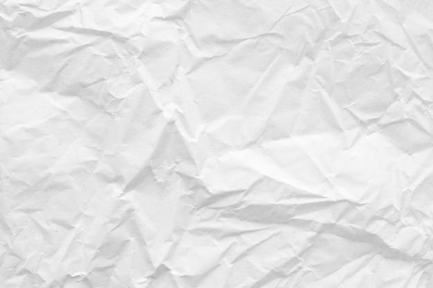 Белая мятой бумаги абстрактный фон текстура
