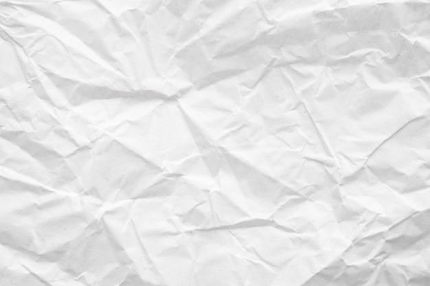 Белая мятой бумаги абстрактный фон текстуры