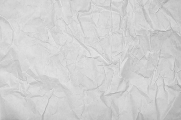 White crumpled paper blank background surface. pastels book cover paint top view