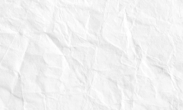 Белая мятой бумаги, текстура бумаги