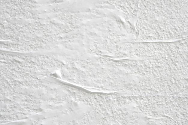 Белая мятой бумаги плакат текстуры