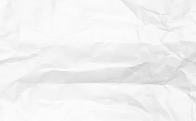 Tono bianco dello spazio di progettazione del fondo di struttura della carta stropicciata bianca