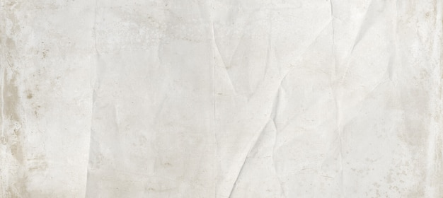 White crumpled paper texture background. vintage wallpaper