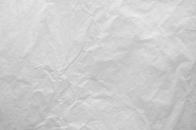 Текстура белой мятой бумаги