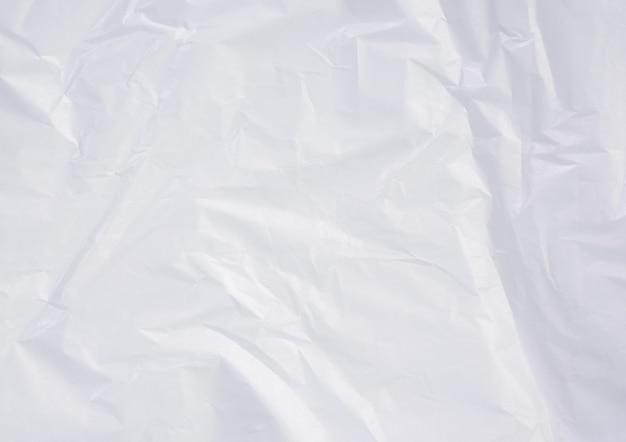 흰색 구겨진 양피지 종이 질감, 전체 프레임