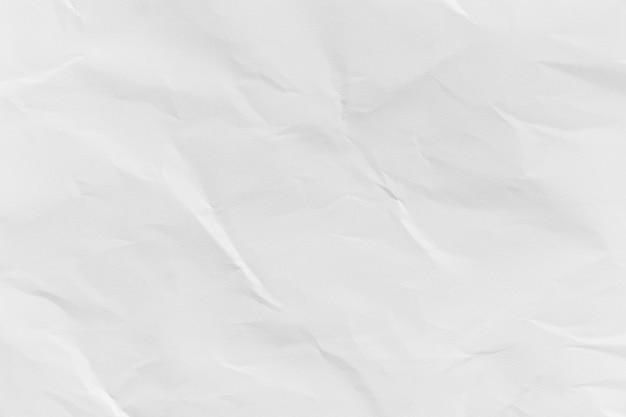 흰색 구겨진 재활용 종이 질감 배경 디자인