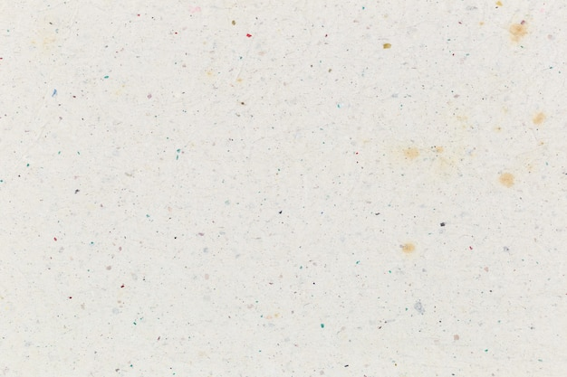 White crumpled recycled paper texture background.