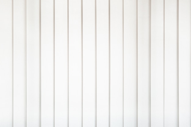 White curtain with bright light for office workplace.