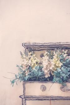 White decoration background art interior
