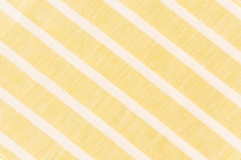 White diagonal line on yellow fabric