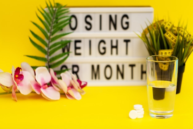 White effervescent pills for rapid weight loss