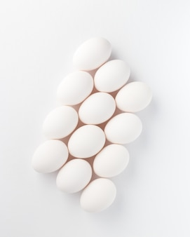 White eggs composition