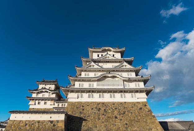 Замок белой цапли или замок химедзи, япония