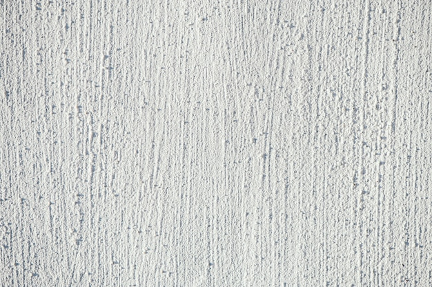 White embossed texture of the painted wall