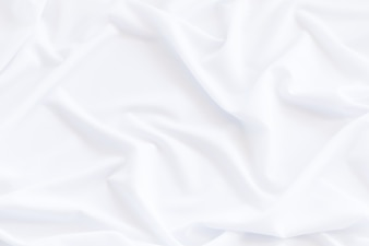 White fabric background and texture