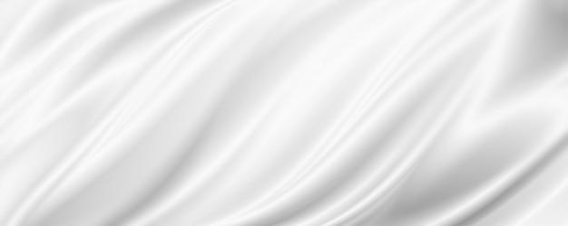 복사 공간 3d 일러스트와 함께 흰색 패브릭 배경