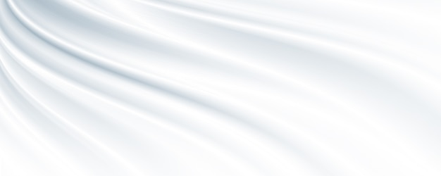 コピースペースと白い布の背景